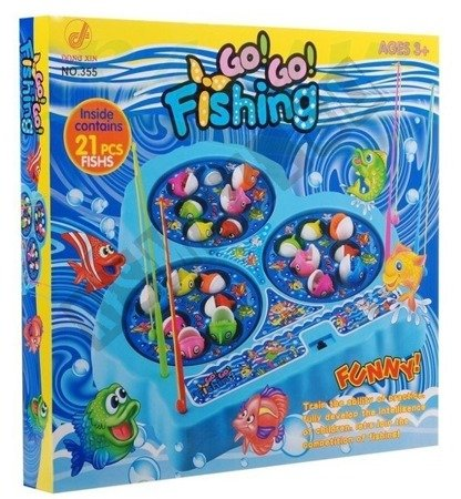 Arcade game catching fish happy fishing