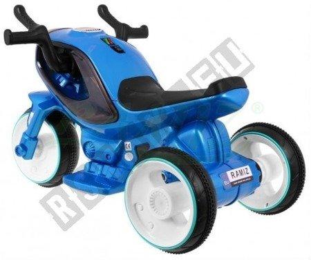 Super motorek Hornet blue battery