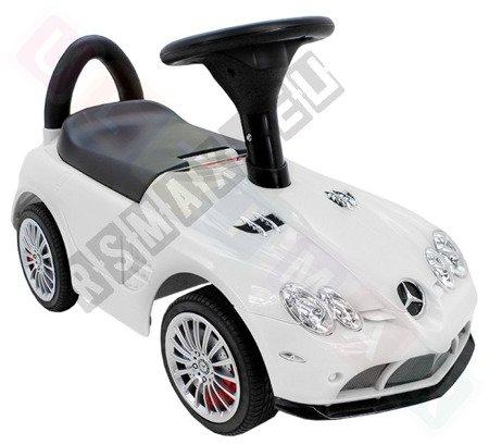 MERCEDES SLR McLAREN car pusher White