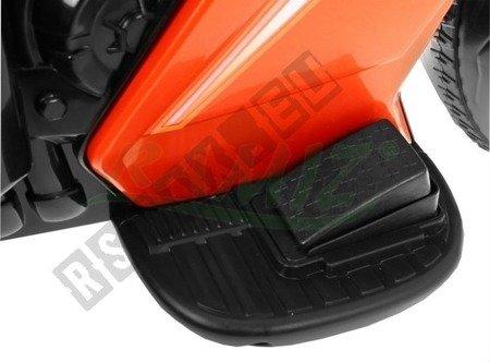 Motor vehicle/Bike Orange