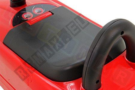 Jeździk MERCEDES SLR McLAREN autko pchacz czerwony