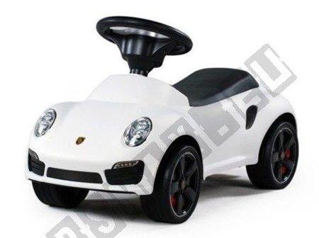 Jeździk Porsche 911 turbo S autko chodzik  biały !