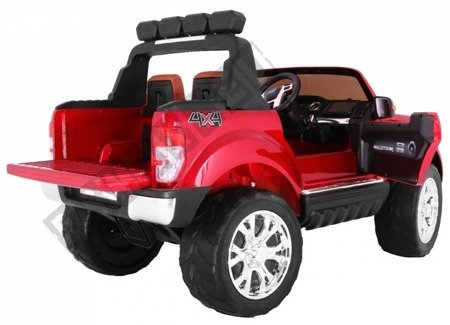 Auto battery Ford Ranger red lacquered