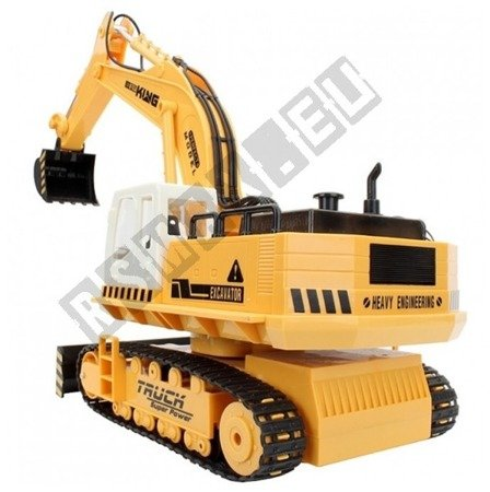 Backhoe bulldozer remote controlled 11CH RTR 27 MHz