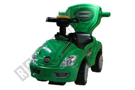 The vehicle, Walker, pusher 3 in 1 green