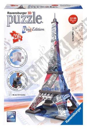3D Puzzle Eiffel Tower Flag Edition 216 elements