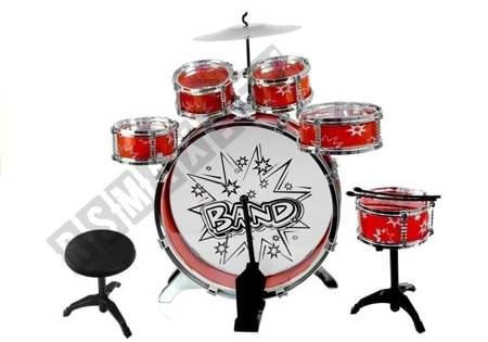 6 Drums With Disc Set For Young Drummer