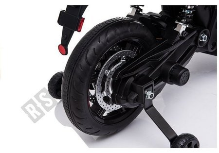 Aprilia A007 Electric Ride On Motorbike Black & Red