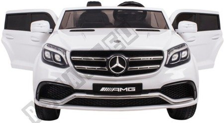Auto on battery Mercedes GLS63 white