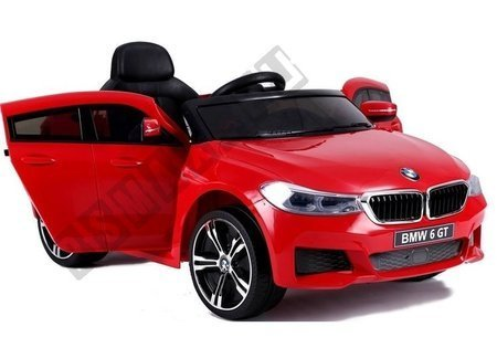 BMW 6 GT Electric Ride On Car Red