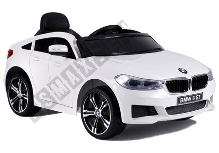 BMW 6 GT Electric Ride On Car White
