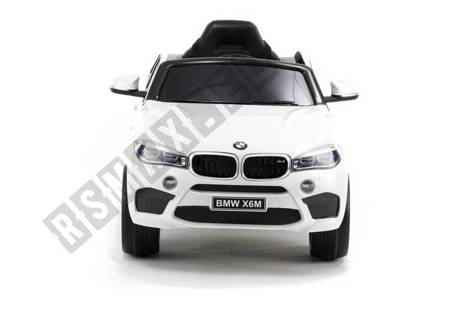 BMW X6 White - Electric Ride On Car
