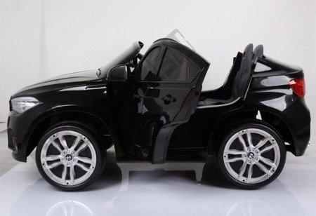 BMW X6M double car rechargeable black lacquer