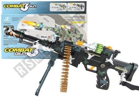 Battery Operated Kids Toy Machine Gun Lights Sounds