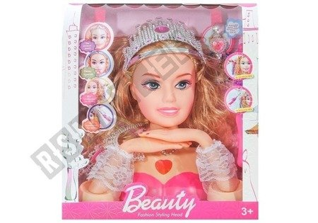 Beauty Fashion Styling Head Doll Accessories Jewellery