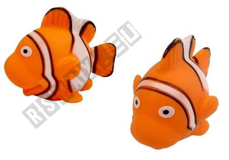 Big Set of Toy Fish For Bathing + Strainer
