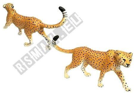 Cheetah Educational Figures 4 pieces Savannah
