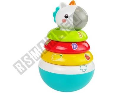Colorful Unicorn Roly-poly Toy 17 cm