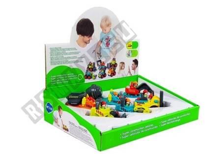 Construction Toy For A Toddler Concrete Mixer Excavator