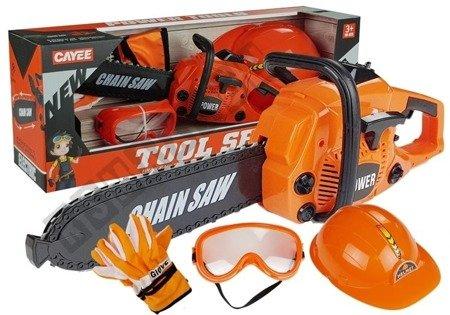 DIY Kit Saw Gloves Helmet Glasses Little Tinkerer