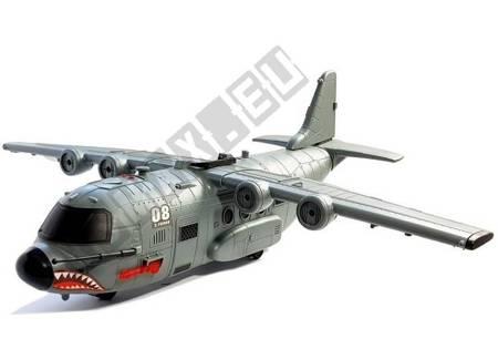 DUŻY Samolot Wojskowy z Akcesoriami