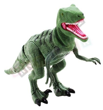 Dinosaur T-REX roaring walk remote-controlled Green