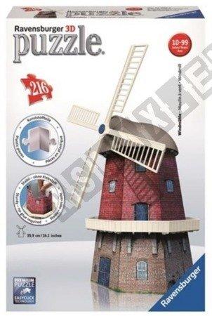 3D Dutch Windmill Puzzle 216 elements