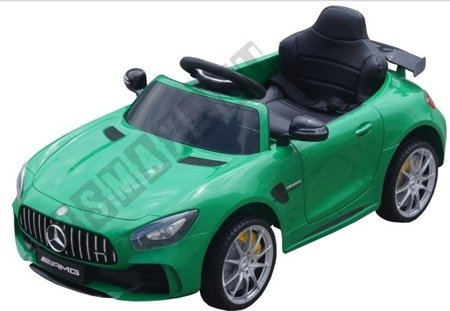 Car on Mercedes GTR license green license!