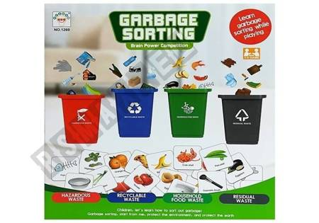 Ecological Game Be Eco Friendly - Recycling