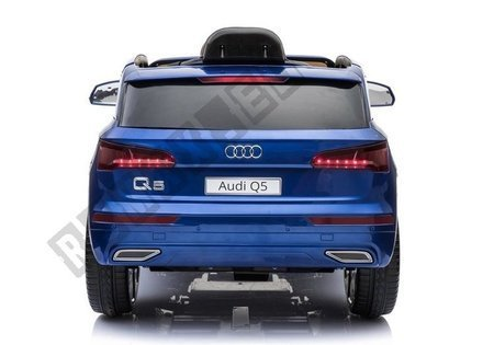 Electric Ride-On Car Audi Q5 Blue Painted