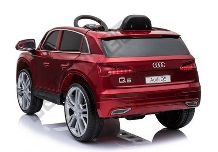 Electric Ride-On Car Audi Q5 Red Painted