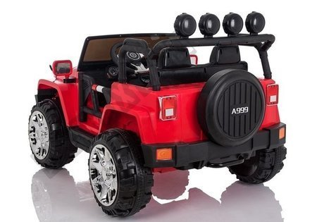Electric Ride-On Car Jeep 4x4 A999 Red