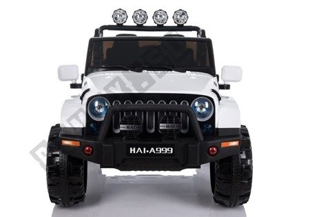 Electric Ride-On Car Jeep 4x4  A999 White