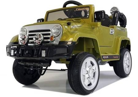 Electric Ride On Car - Jeep JJ245 Green