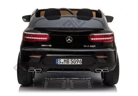Electric Ride-On Car Mercedes GLC 63S QLS MP4 Black Painted