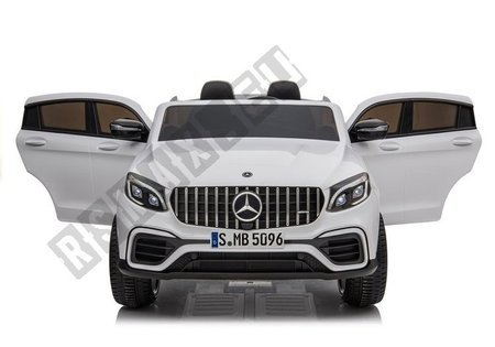 Electric Ride-On Car Mercedes GLC 63S QLS White