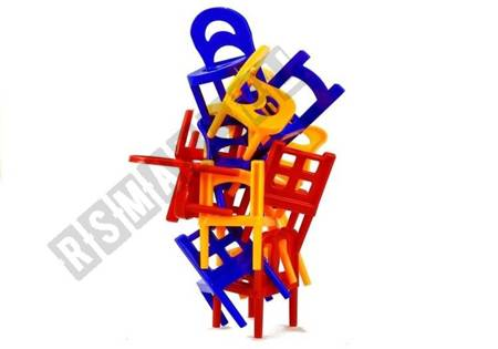 Falling Chairs Ability Game For Whole Family