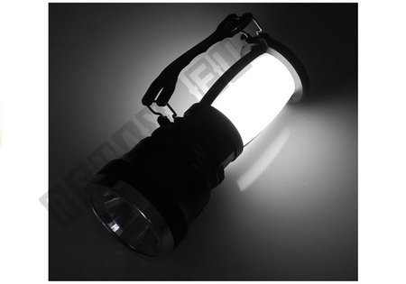 Flashlight Solar Powered 3 in 1 Battery 1000mAh 2745