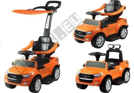Ford Ranger Wildtrak Orange - with Canopy and Parent Handle