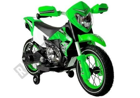 Green Electric Ride On Bike FB-6186 Motorcycle
