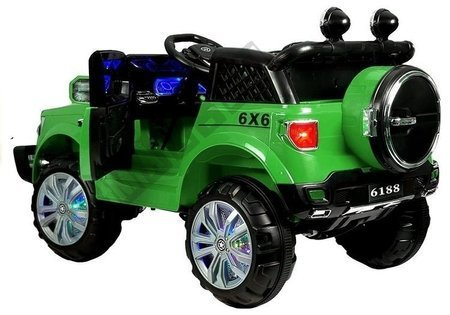Green Electric Ride On Car KP-6188