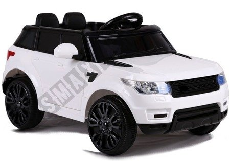HL1638 Electric Ride On Car - White