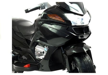 HZB118 Black -  Electric Ride On Motorcycle