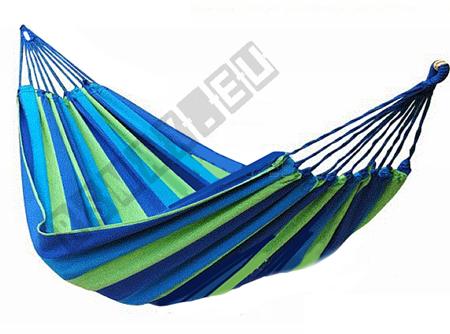 Hammock 100x236 Blue-Green Stripes