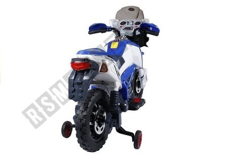 J518 Electric Ride On Motorcycle - Blue