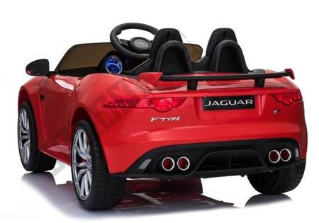 Jaguar F-Type Red Painting - Electric Ride On Car