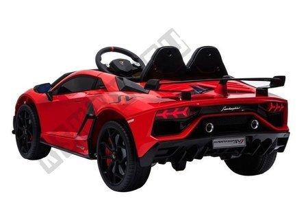 Lamborghini Aventador Electric Ride On Car - Red