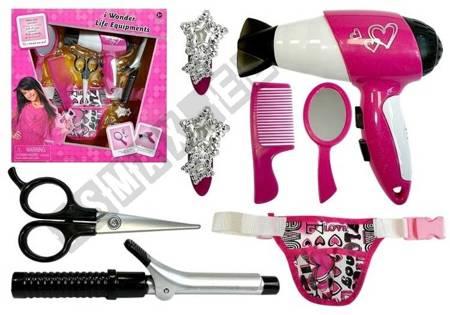 Little Hairdresser Set with Accessories