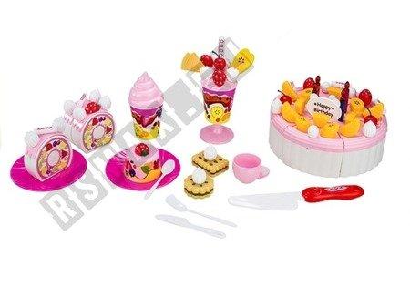 Luxury Fruit Cake Realistic Safe Cutting Sweets Birthday Velcro