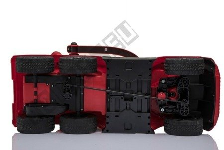 Mercedes G63 battery rider red NEW !